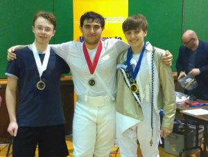 Brian Lemay (right) Wins Gold Medal at Division III National Qualifiers